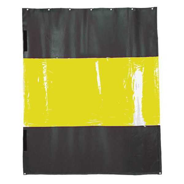 """Tmi Weld Curtain Replacement, Yellow, 12x10"""" CU1853-1210R"""