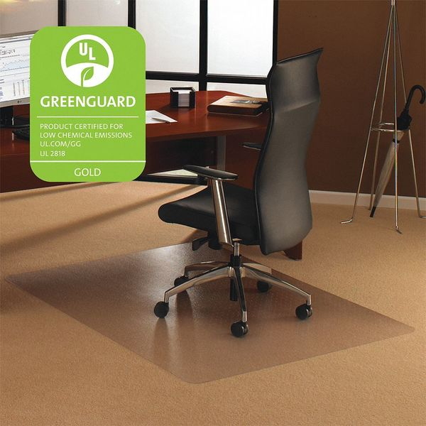"Cleartex Ultimat Ultimat Polycarb, PP Carpet, 48""x53"" FR1113427ER"