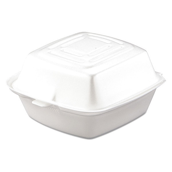 Dart Carryout Food Container, Foam, 1-Co, PK500 50HT1