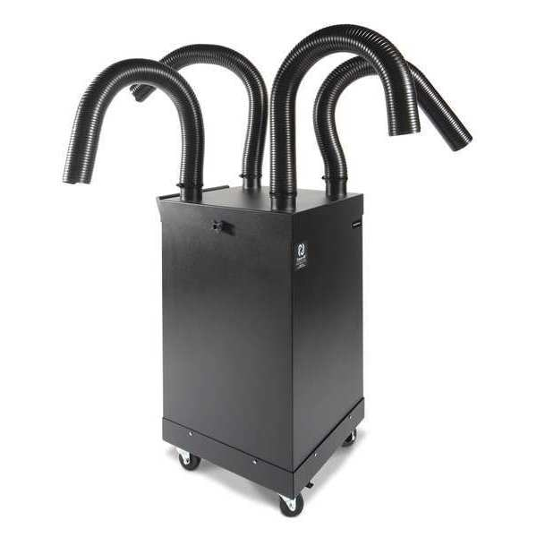 Extract-All Fume Extractor, Portable, Quad Arm, 800 CFM SP-800-4A