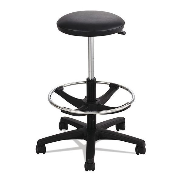 Safco Extended-Height Lab Stool, Black 3436BL