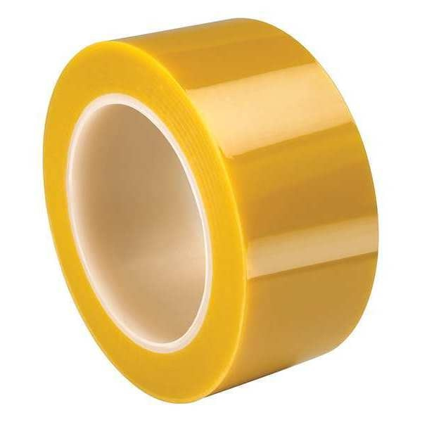 "Tapecase Yellow,  2 mil,  Polyester Tape-2"" X 72yd. TC4150"