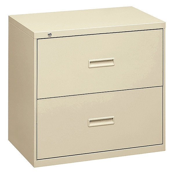Hon Two-Drawer Lateral File,  30w x 19-1/4d x 28-3/8h,  Putty H432.L.L