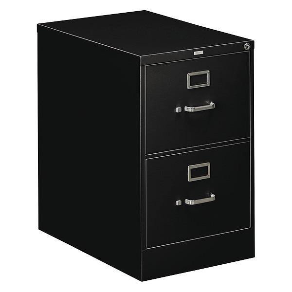 Hon Two-Drawer,  Full-Suspension File,  Legal,  26-1/2d,  Black H312C.P.P