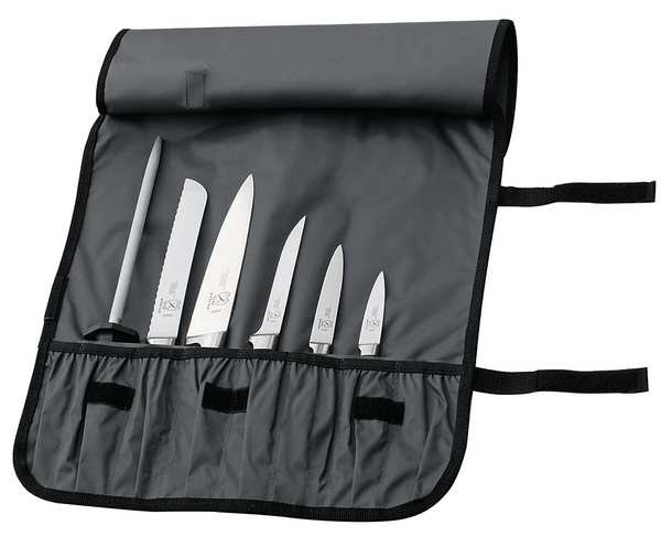 Mercer Cutlery Knife Case, Holds 7 pcs., Poly, 21 In. M30007M