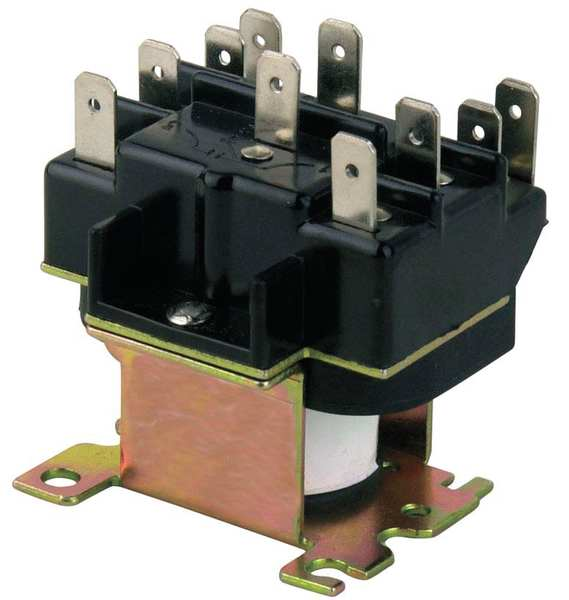 Zoro Select Magnetic Relay, Switching, 120 V Coil 6AZU0