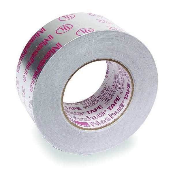 Nashua Printed Foil Tape, 2-1/2In x 60 Yd, Silver 324A