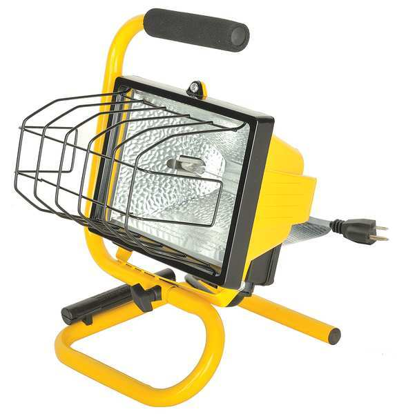 Bayco Products Inc BAYCO PRODUCTS INC Halogen Yellow Temporary Job Site Light,  Standards: UL SL-1002