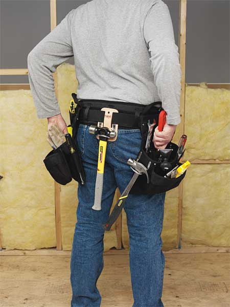 Clc Carpenter Combo,  Tool Belt,  16 Pockets,  Black 5608