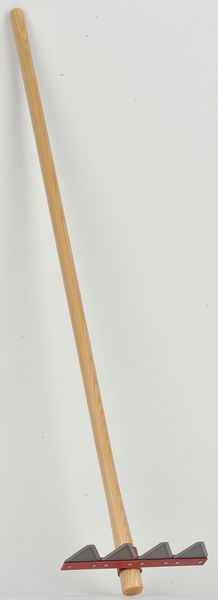 COUNCIL TOOL Fire Rake,Straight Handle,60 In LW12-60 L