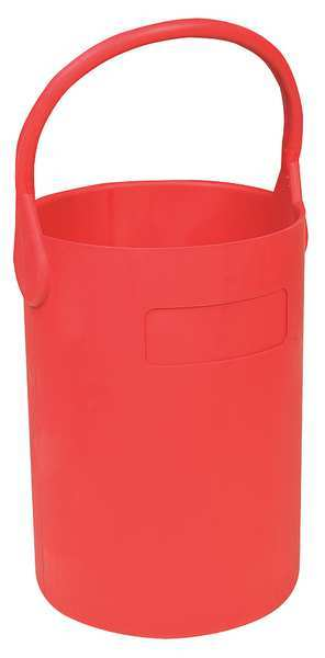 Eagle Thermoplastic Bottle Carrier, Safety Tote, 16 in., Red B-100
