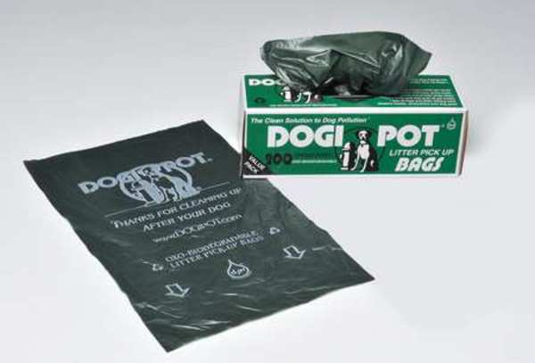 Dogipot Pet Waste Bags, 8 oz., 0.70 mil, PK10 1402-10