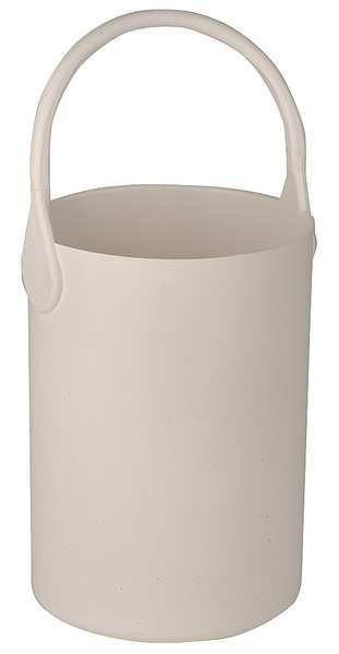 Eagle Thermoplastic Bottle Carrier, Safety Tote, 7 1/2 In, Wht B-101