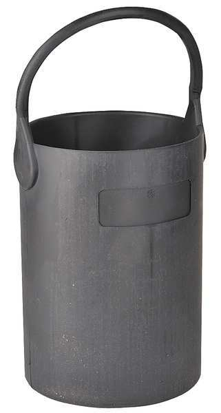 Eagle Thermoplastic Bottle Carrier, Safety Tote, 7 1/2 In, Blk B-102