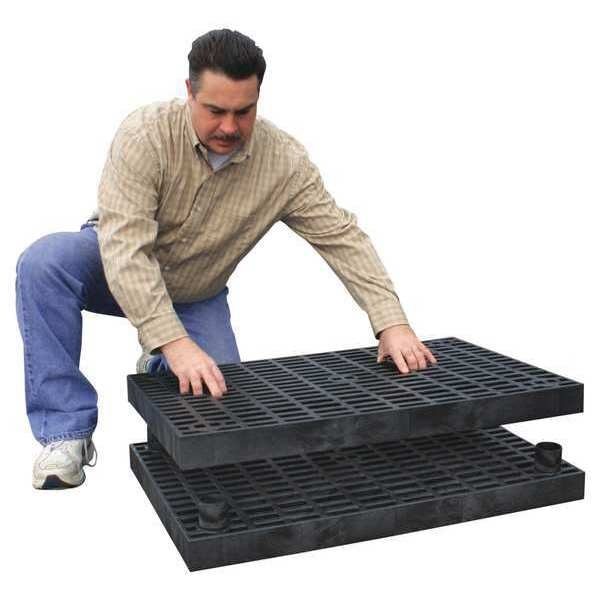 Add-A-Level Work Platform Add On Unit,  Stackable,  Plastic A3624AG