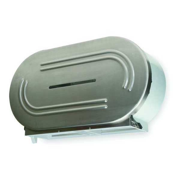 Tough Guy Toilet Tissue Dispenser, SS 1ECK1