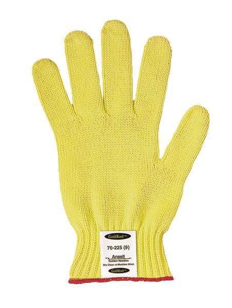 Ansell Cut Resistant Gloves, Yellow, XS, PR 70-225