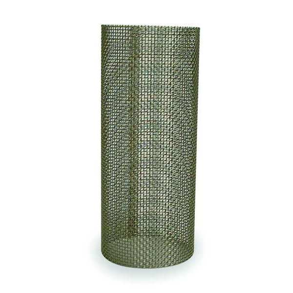 """Zoro Select Filter Screen, 1-1/2"""", Stainless Steel 5730340"""