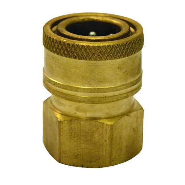 Zoro Select Quick Connect Coupler, 3/8 (F)NPT 1MDG7
