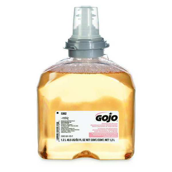 Gojo 1,200 mL Foam Hand Soap Cartridge 5362-02