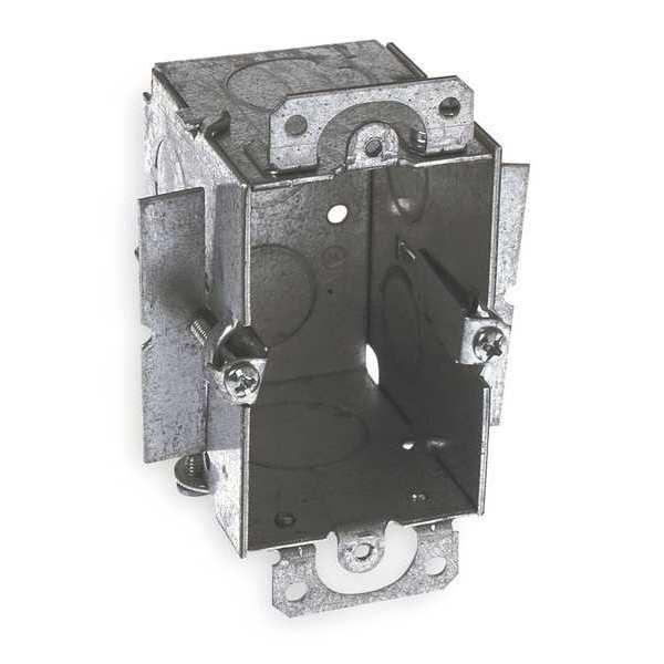 Raco Electrical Box,  Switch,  1 Gang,  Material: Steel 509
