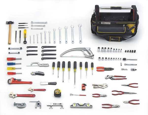Proto 105 Piece HVAC Basic Tool Set JTS-0105HVAC