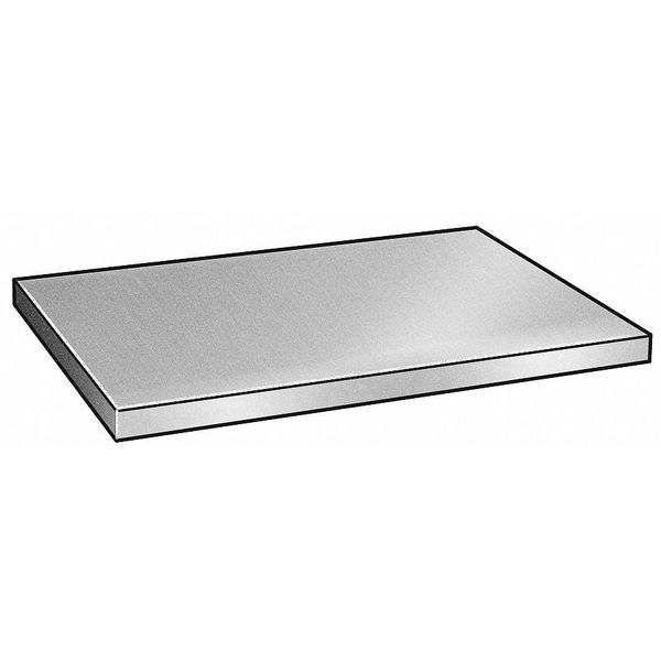 Zoro Select Blank, Stainless Steel, 304, 3 x 6 x 9 In SB-0304-3000-06-09