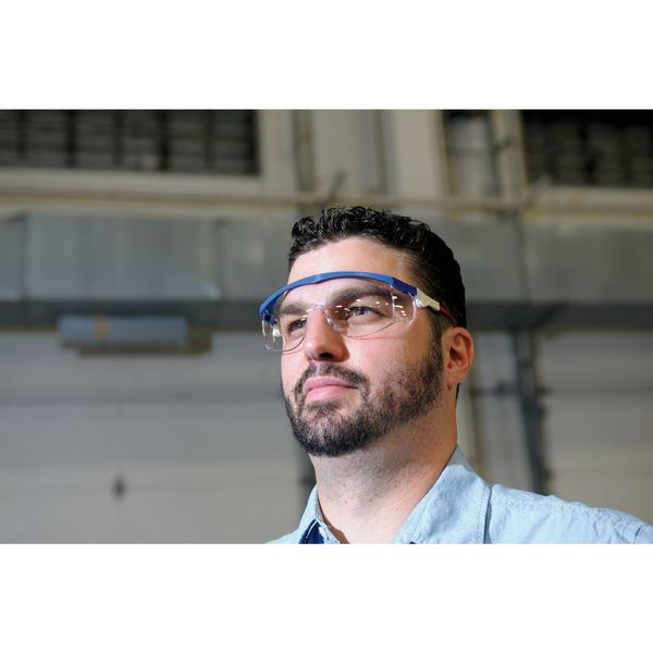CONDOR 1VW25 Spirit™ Safety Glasses With Clear Scratch-Resistant Lens