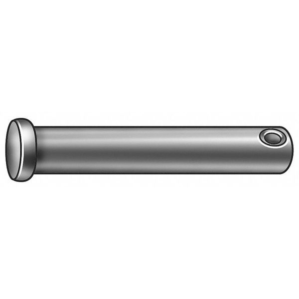 Itw Bee Leitzke Clevis Pin, 1018, 0.187 x2 In L, PK25 11-019