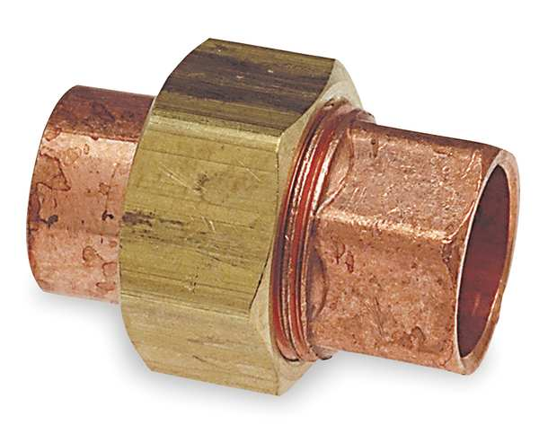 "Nibco 1"" NOM C Copper Union,  Temp. Range: -20 Degrees  to 400 Degrees F 633W 1"