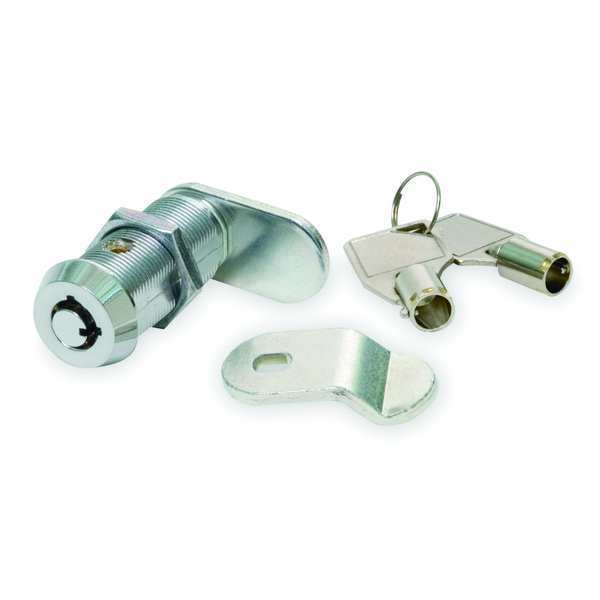 Zoro Select Standard Keyed Cam Lock,  Key T0001 1XRZ6