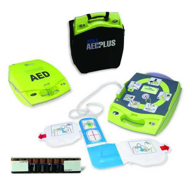Zoll AED Plus, Semi Auto, 5 Yr. Pad/Battery 8000-004000-01