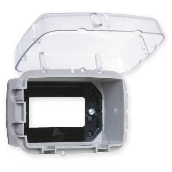 Intermatic 1 -Gang Horizontal or Vertical While In Use Weatherproof Cover WP3100C
