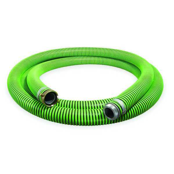 """Continental 1-1/2"""" ID x 20 ft Discharge & Suction Hose BK/GN 1ZMY3"""