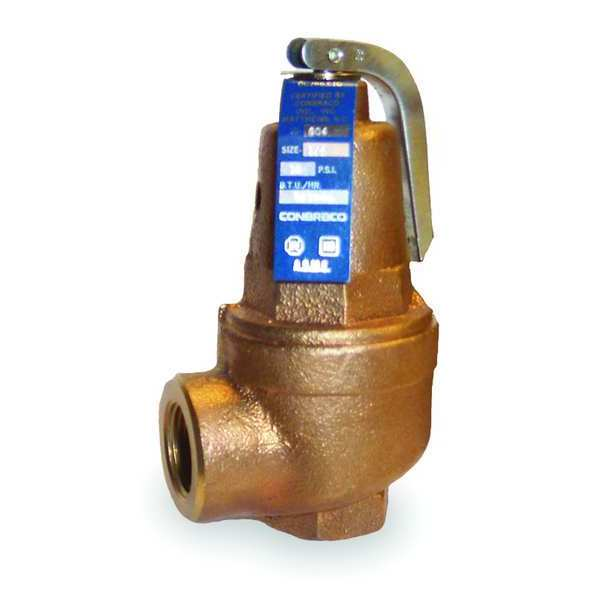 Apollo Safety Relief Valve, 3/4In, 150 psi, Bronze 1060434