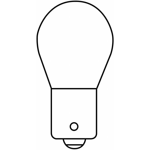 Ge Current Miniature Lamp, 1683, 29W, S8, 28V 1683