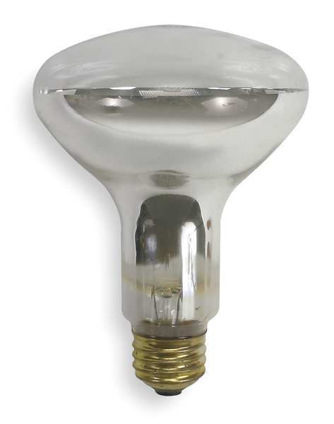 Ge Current Incandescent Floodlight, BR30,100W 100R30/CL - 12V