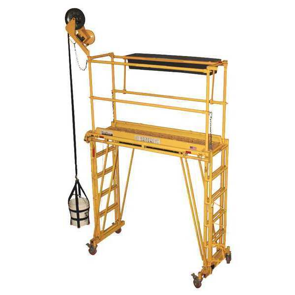 Tele-Tower Rolling Work Platform, 76 in. L 1101-22