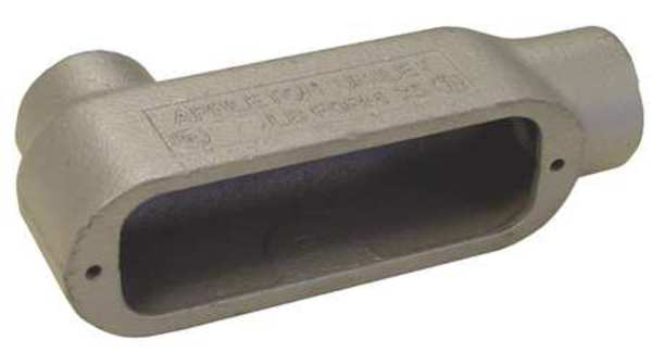 Appleton Electric Conduit Outlet Body, Iron, 6 In. LB600-M
