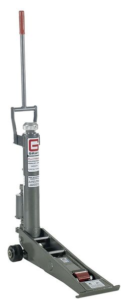 "Gray 15442 lb. Hydraulic Fork Lift Jack 16"" Max. Lifting H. FLJ-770B"