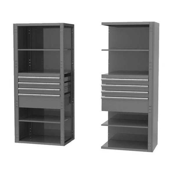 "Greene Manufacturing, Inc. Pre-Configured Modular Storage Rack,  24""D x 36""W x 84""H GRC-362-24S"