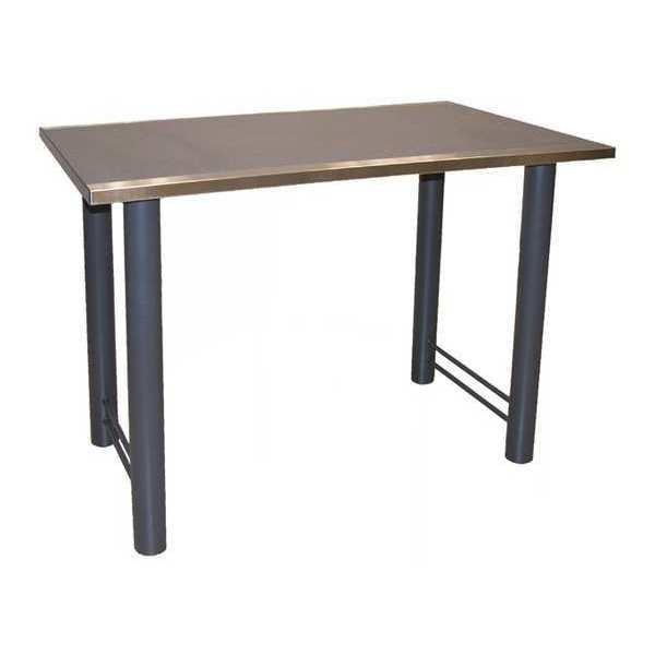 """Greene Manufacturing, Inc. Mannequin Table, 30""""Dx48""""Wx36""""H ,  48"""" W 48"""" L 36"""" H,  Laminate COS -103048-36-SS"""