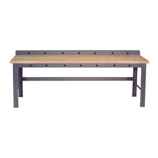 """Greene Manufacturing, Inc. Work Station With Front and Rear Power Aprons,  96"""" W,  28-3/4"""" to 37-1/4"""" Height GP-838"""