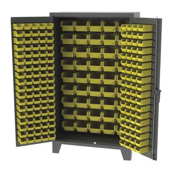"""Greene Manufacturing, Inc. Bin Storage Cabinet,  36""""Wx24""""Dx72""""H,  Overall Cabinet Height: 84"""" EX-723-1B"""