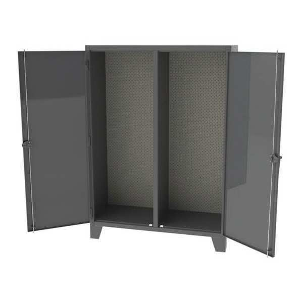 """Greene Manufacturing, Inc. Cabinet, 60""""Wx24""""Dx84""""H, 2 Side Tool Panel EX-845-3TP"""