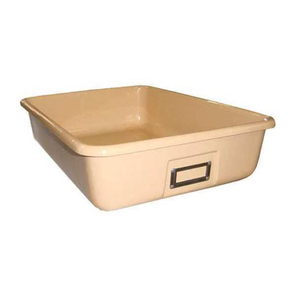 "Greene Manufacturing, Inc. Plastic Tote Tray, 13.75""Wx19""Dx4.375""H TOTE-1319"