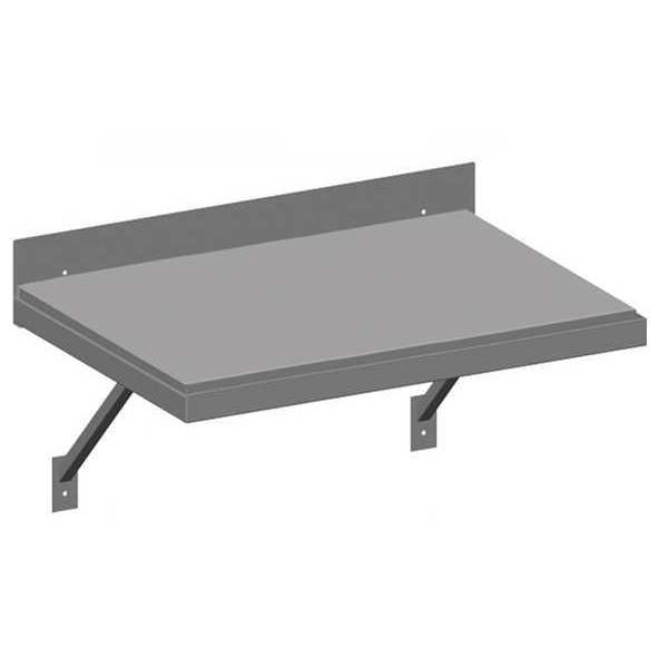 "Greene Manufacturing, Inc. Wall Mount Arc Table, 48""x24"", Steel Top GT-674.STL"