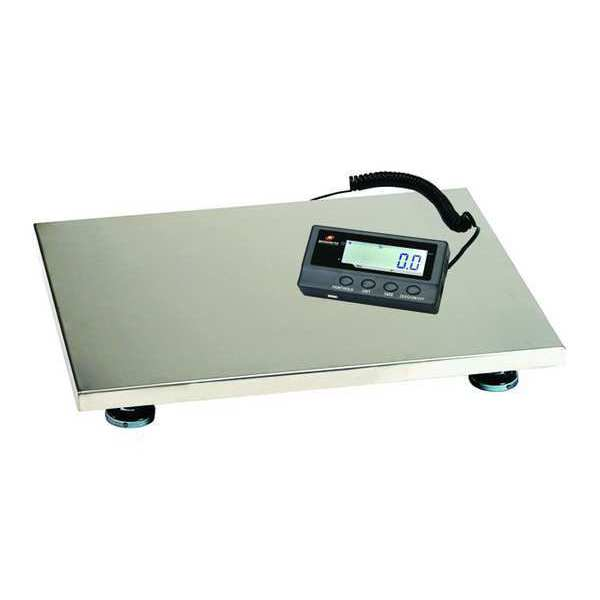 Measuretek Digital Platform Bench Scale with Remote Indicator 200kg/440 lb. Capacity 12R981