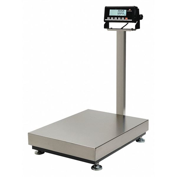 Measuretek Digital Platform Bench Scale 60kg/150 lb. Capacity 12R965