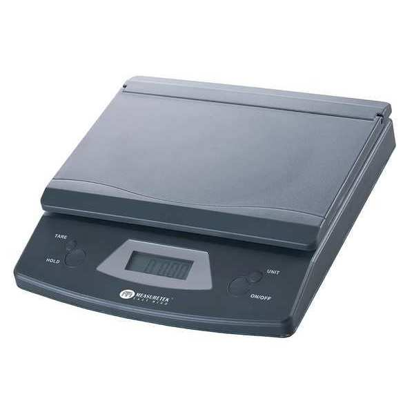 Measuretek Digital Compact Bench Scale 25 lb./10kg Capacity 12R969